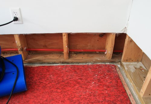 Wet basements can lead to health problems